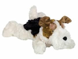 Plüschhund *Foxterrier* - Bild vergrößern