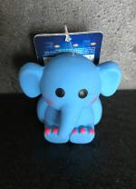 Latex Mini Elefant *Fanti* blau