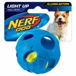 Nerf Dog Illuma-Action-LED Ball blau