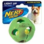 Nerf Dog Illuma-Action-LED Ball grün