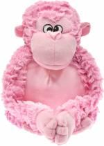 Plüschtier *Gorilla* rosa