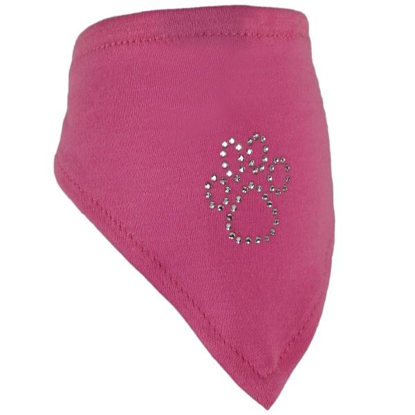 Halstuch *Pfötchen* rosa